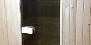 Wejście do sauny na zamówienie